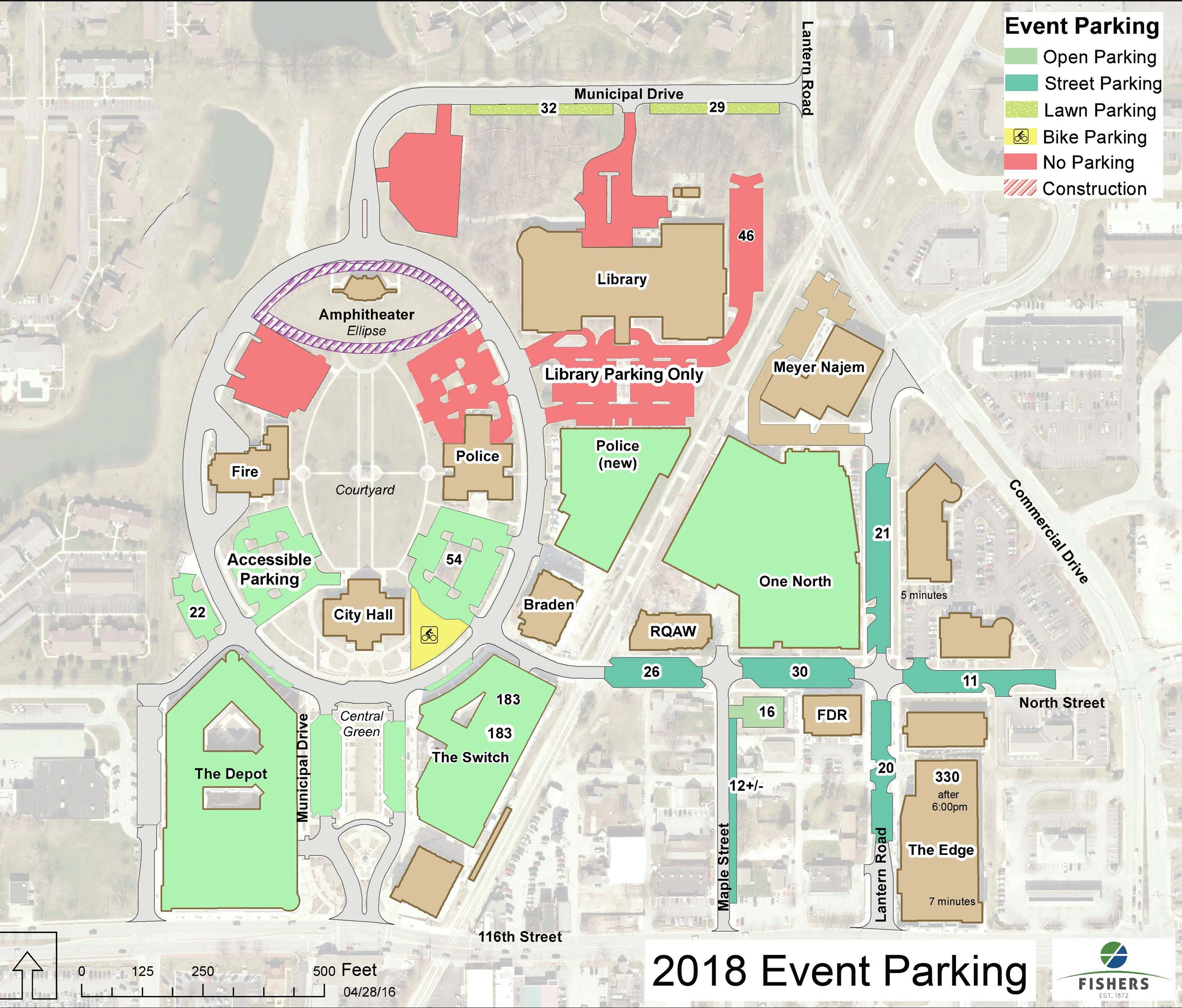 parking map 2019